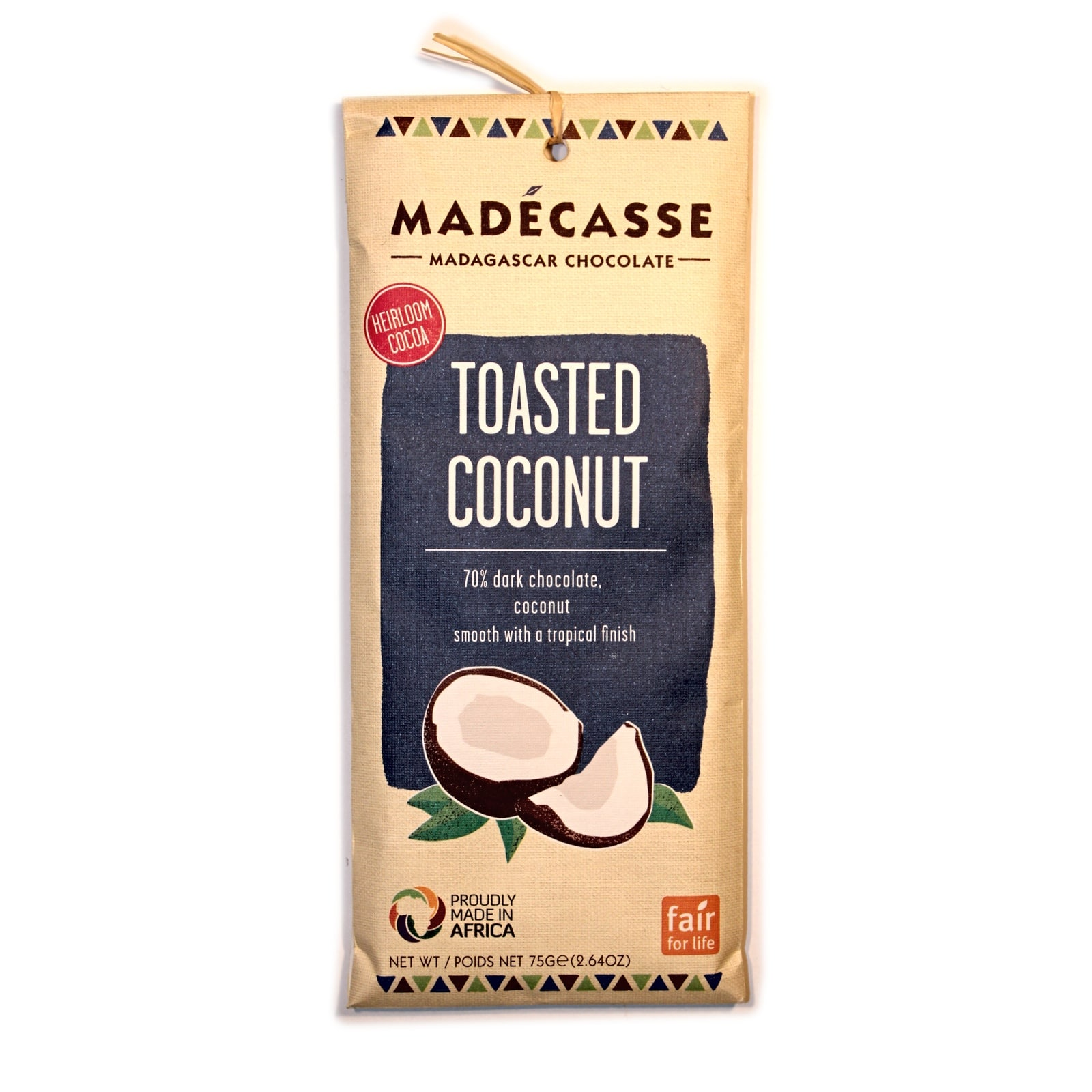 Madecase Toasted Coconut 70% шоколад